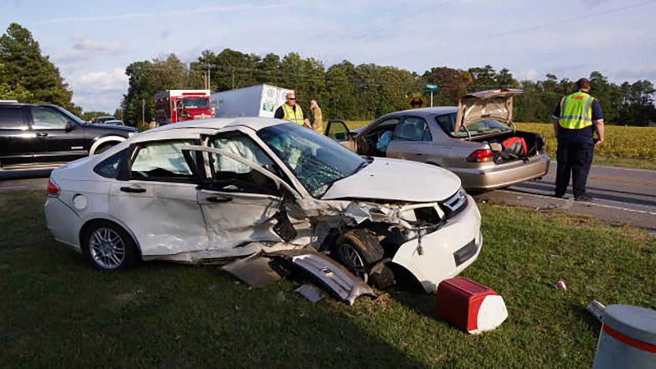A serious wreck injured a young child in Moore County