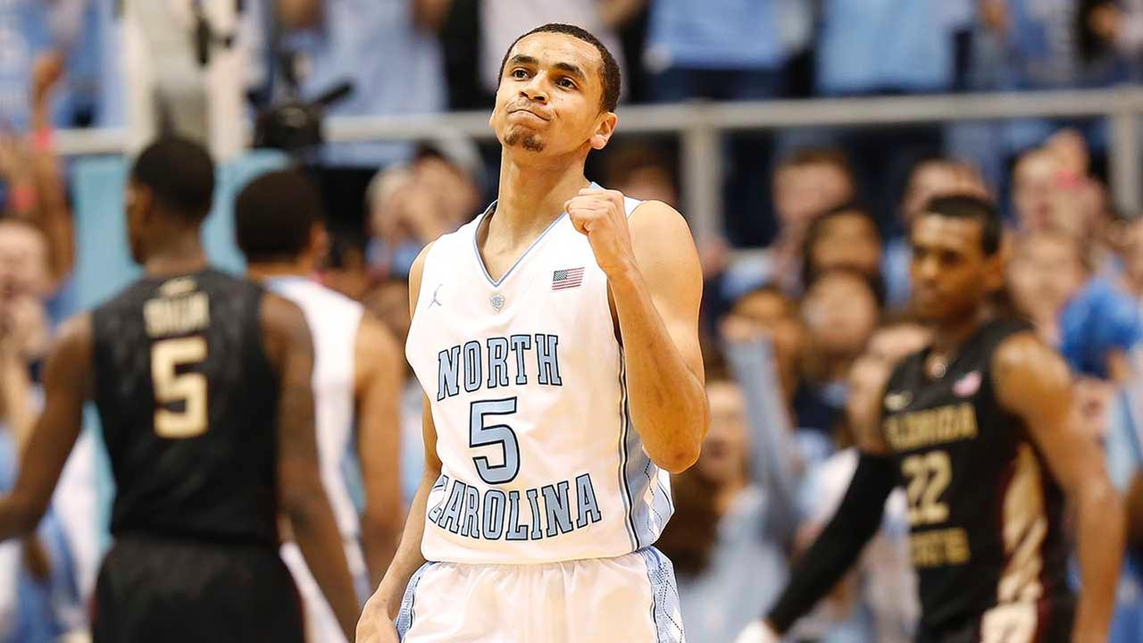 North Carolinas Marcus Paige reacts during the second half of an NCAA college basketball game against Florida State, Saturday Jan. 24, 2015, in Chapel Hill, N.C.