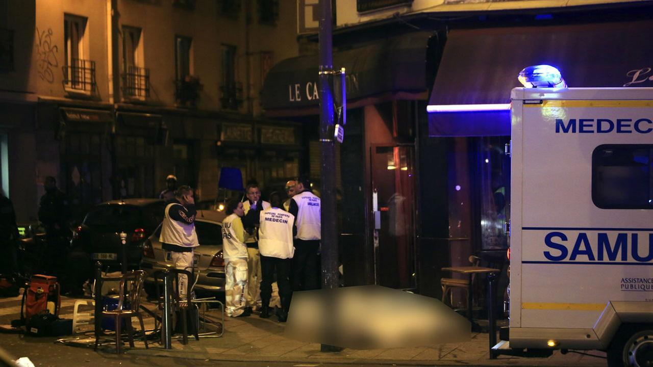 Paris attackThibault Camus
