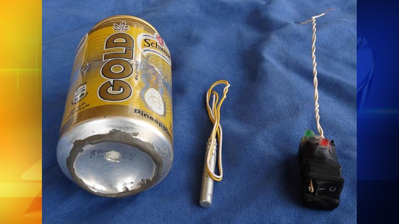 ISIS claims this is an image of the bomb that brought down a Russian airliner in late October over Egypt.