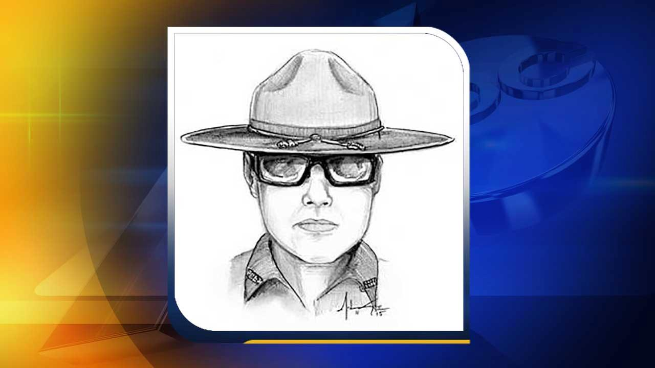 Composite sketch of the suspect