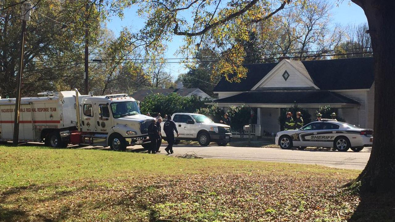 Hazardous-materials team and Animal Control called to Wendell home