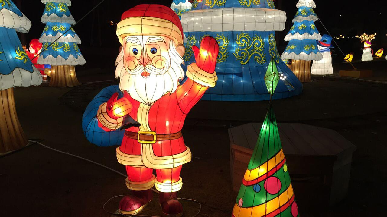 Photo from the Cary Chinese Lantern Festival