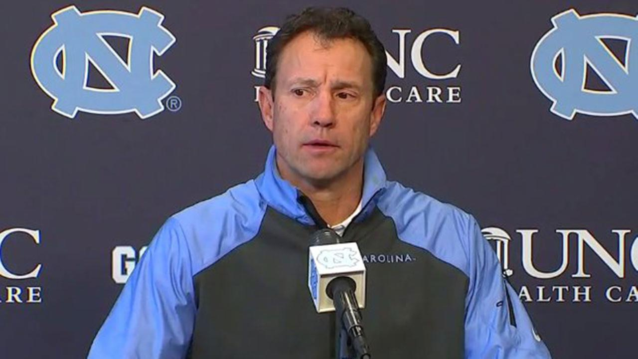 UNC Head Football Coach Larry Fedora