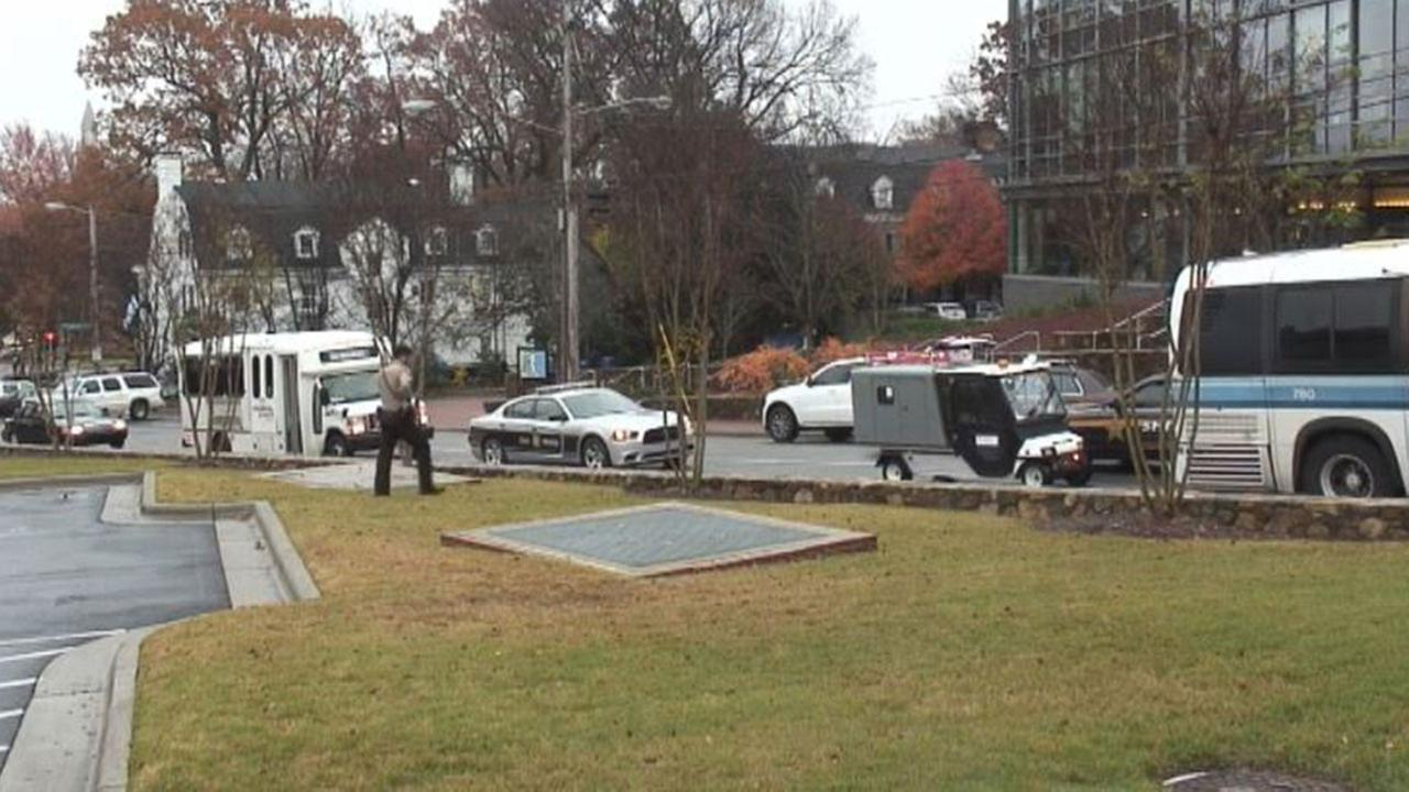 UNC Chapel Hill was on lockdown Wednesday morning after a report of a dangerous person on campus.
