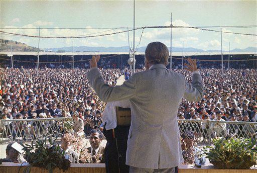 <div class='meta'><div class='origin-logo' data-origin='AP'></div><span class='caption-text' data-credit=''>American evangelist Billy Graham shown speaking Nov. 2, 1971 in London, England.</span></div>