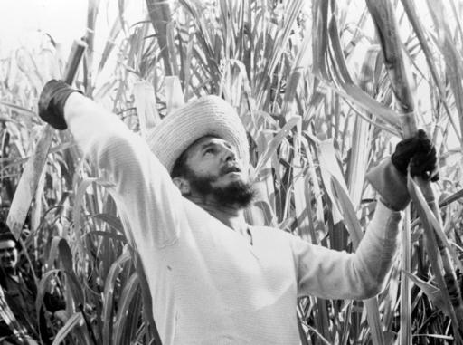 <div class='meta'><div class='origin-logo' data-origin='none'></div><span class='caption-text' data-credit=''>In this Feb. 13, 1961 file photo, Prime Minister Fidel Castro went cane cutting with thousands of other volunteer workers. (AP Photo)</span></div>