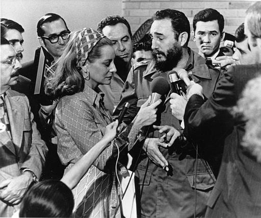 <div class='meta'><div class='origin-logo' data-origin='none'></div><span class='caption-text' data-credit=''>Cuban Prime Minister Fidel Castro responds to a question from American NBC reporter Barbara Walters in Havana, May 7, 1975. (AP Photo)</span></div>