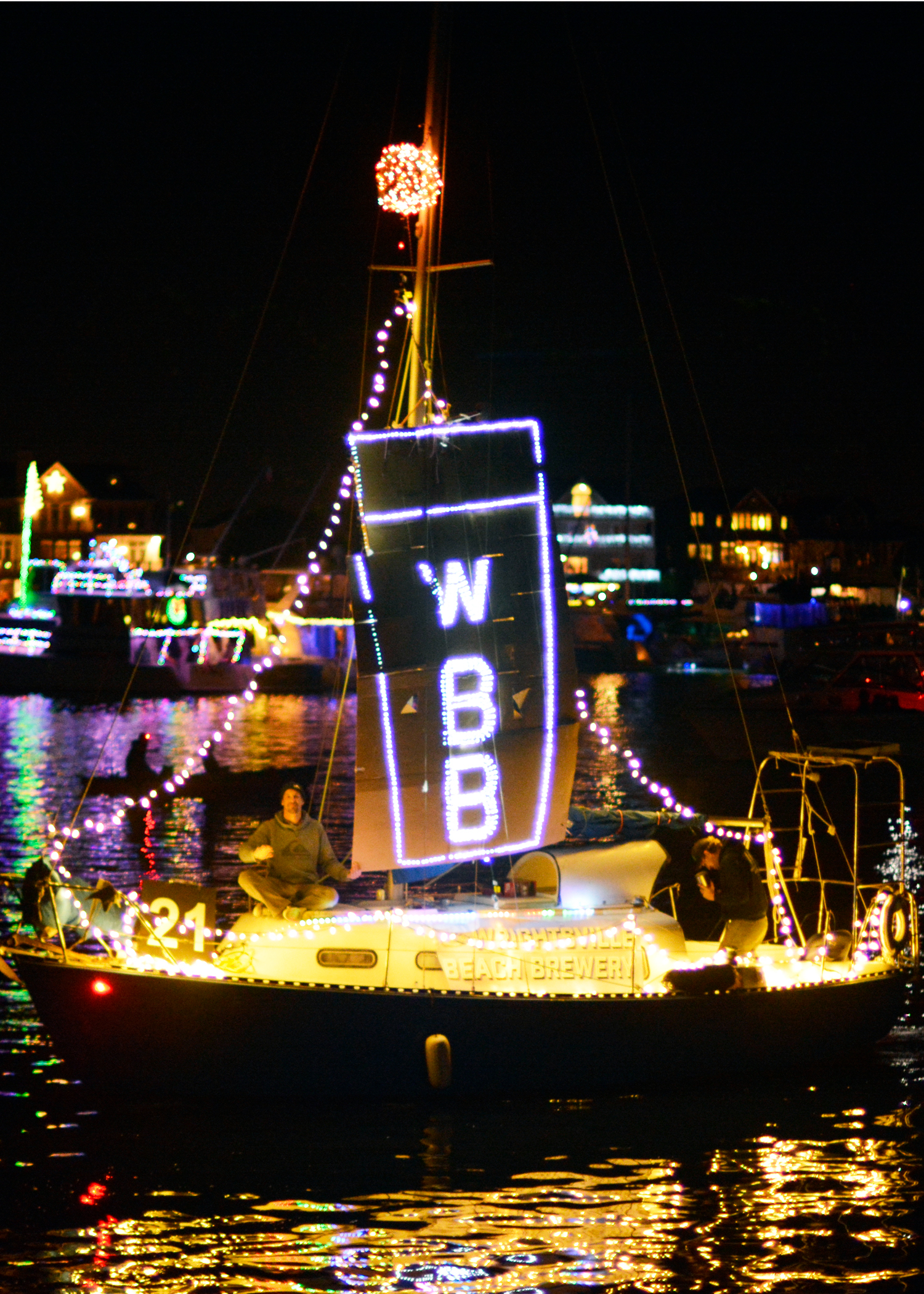 "<div class=""meta image-caption""><div class=""origin-logo origin-image none""><span>none</span></div><span class=""caption-text"">2017 NC Holiday Flotilla Best Sailboat Award winner (Credit: Beth W. Hedgepeth)</span></div>"