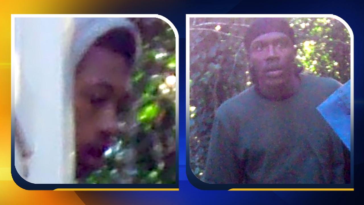 Images captured of the two suspects.