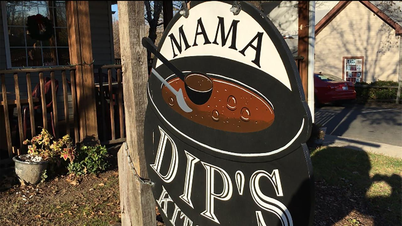 Iconic Chapel Hill restaurant Mama Dips is located at 408 W. Rosemary St.