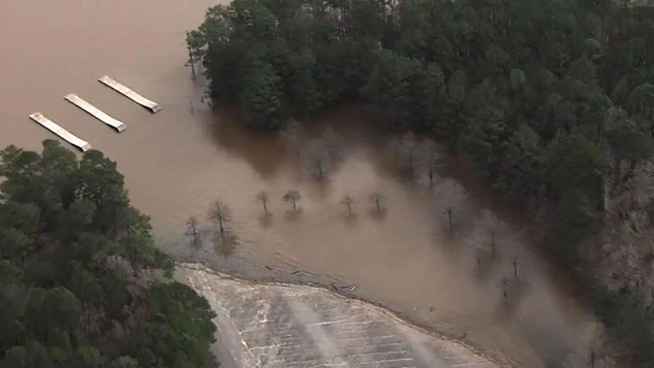 Significant Flooding Seen Around Jordan Lake Abc11 Com