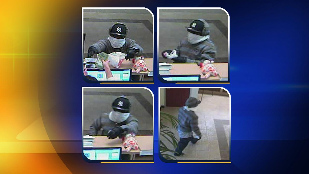 Images of the man who robbed the State Employees Credit Union
