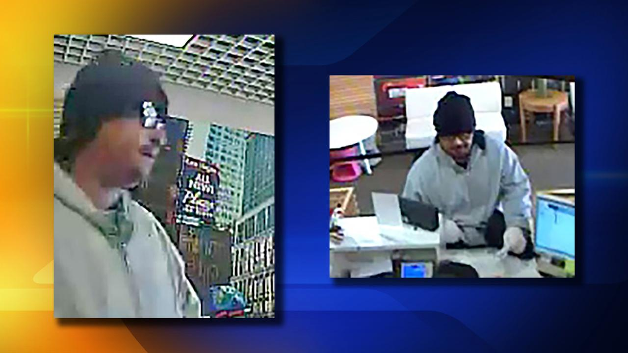 Suspect in Peoples Bank robbery