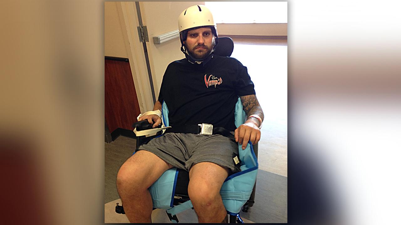 Luke Iorio is beating the odds, gaining back his strength through rehabilitation at WakeMed.
