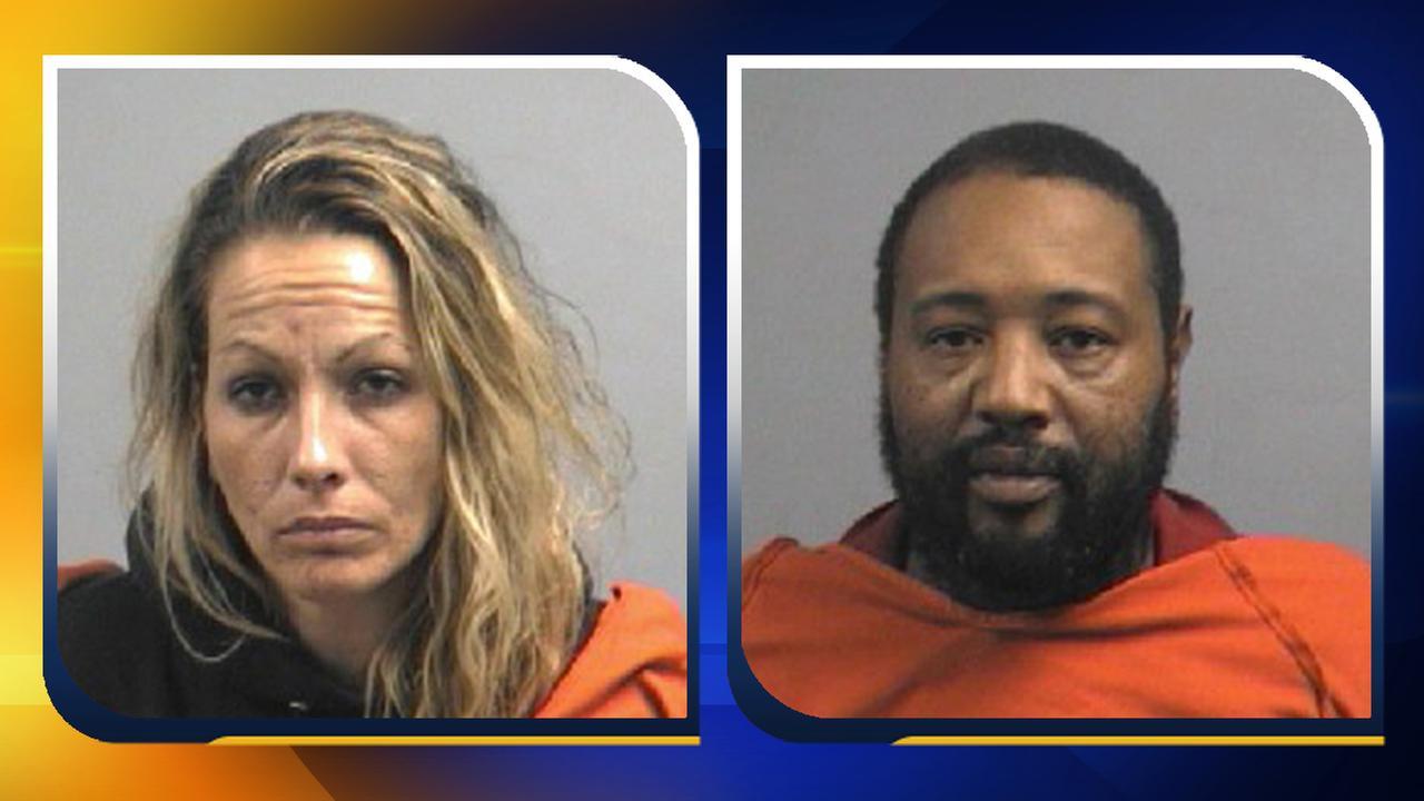 Jennele Lea Howard Wall, 35, and Montrel Adams, 41