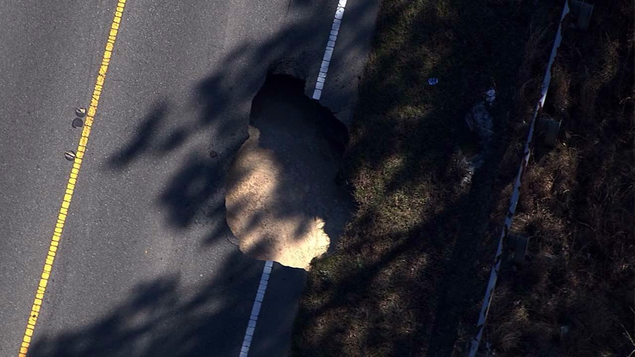 Lystra Road sinkhole