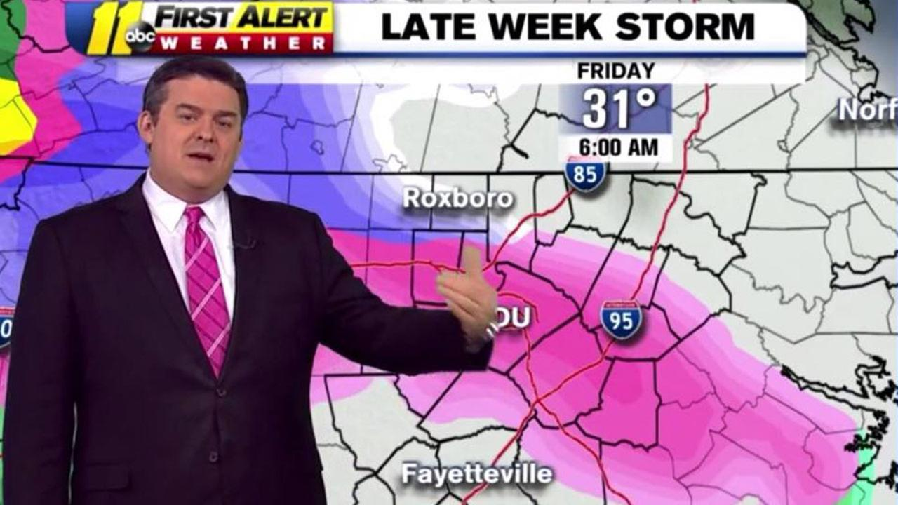 ABC11 Meteorologist Don Big Weather Schwenneker