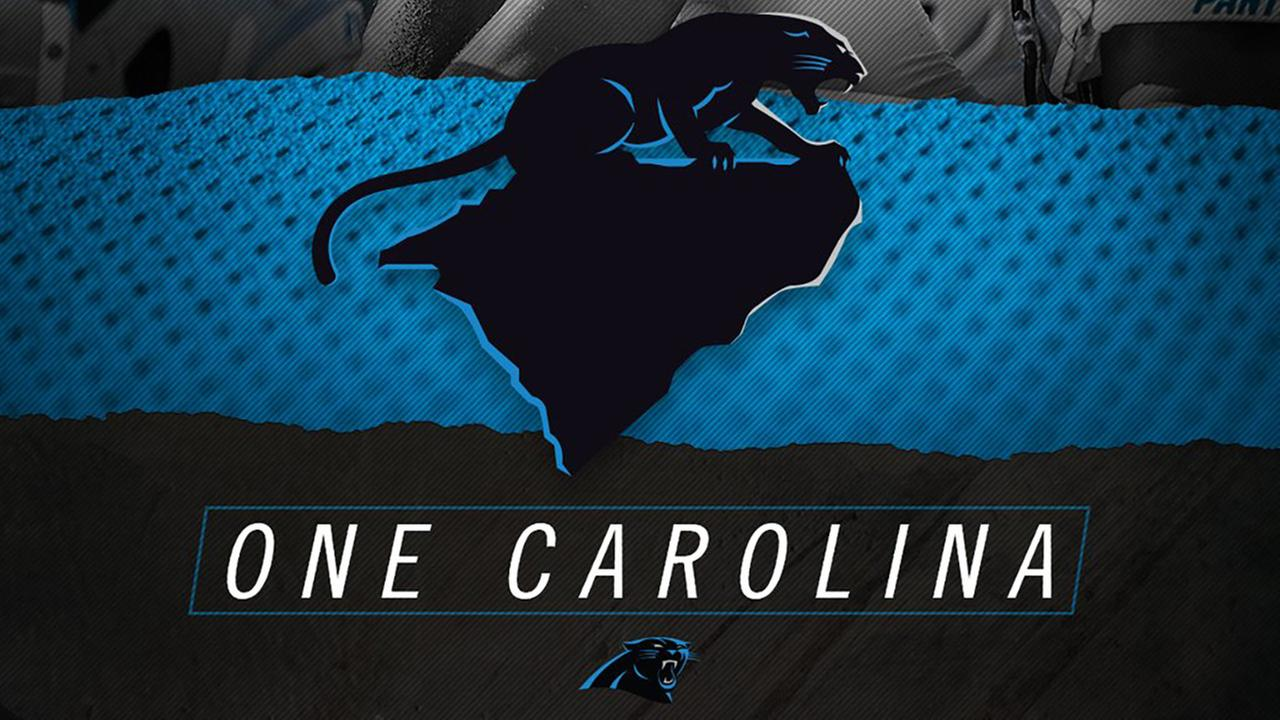 Schools, teams show their support for Panthers with #OneCarolina