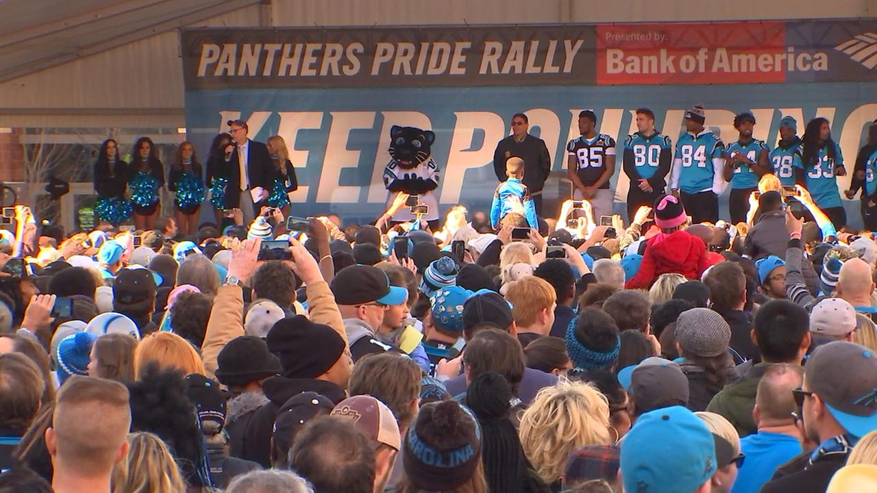 Panthers rally in Charlotte