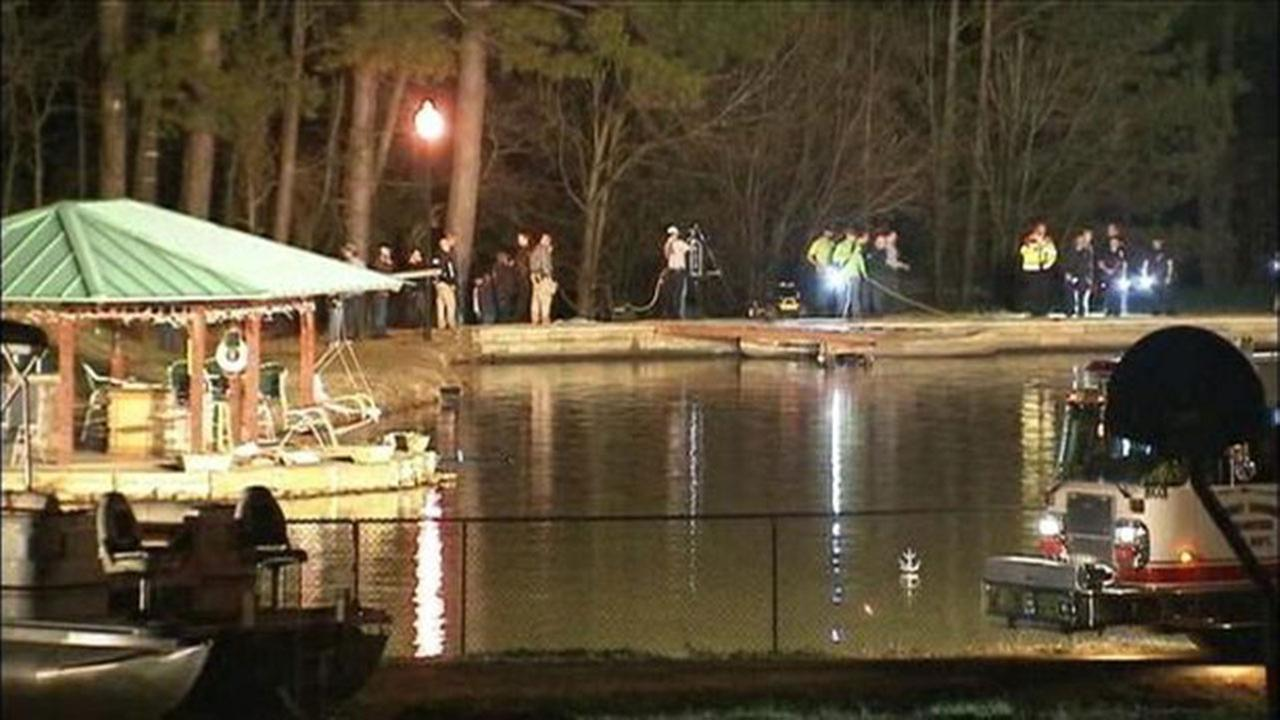 Dive team searches for missing child near pond