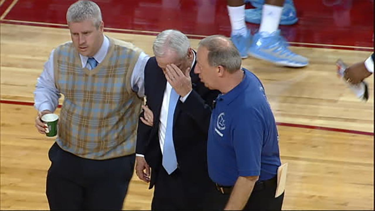 "Roy Williams: ""I'll be fine"" after on-court collapse"