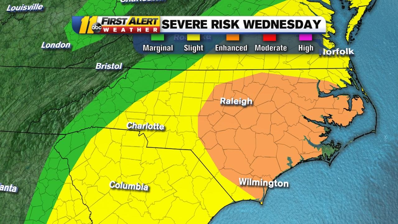 Triangle braces for threat of severe weather - Durham news