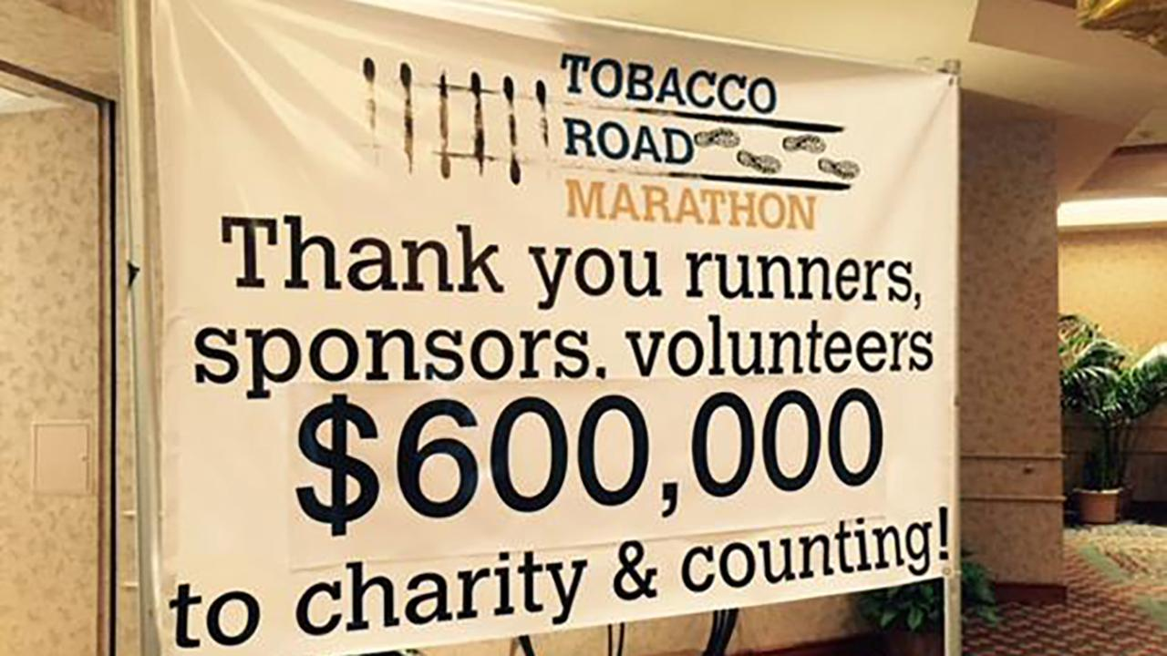 Tobacco Road Marathon packet pick up