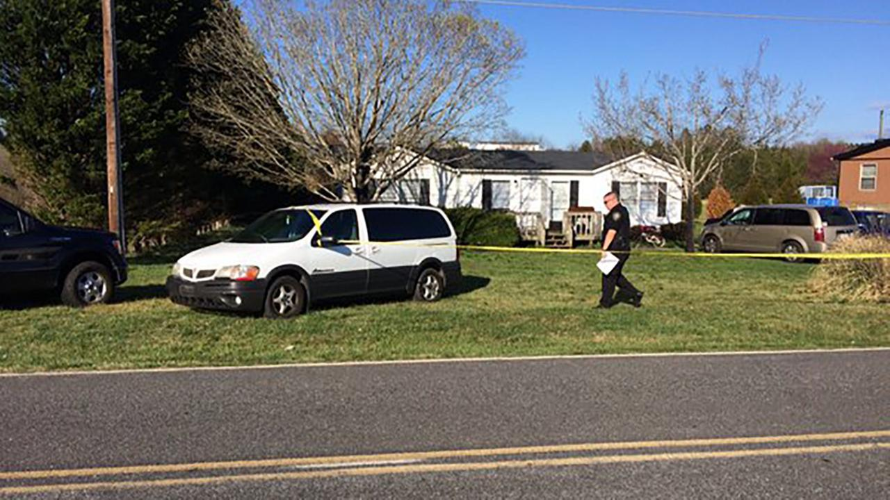 Deputies search for killer after couple found slain inside home