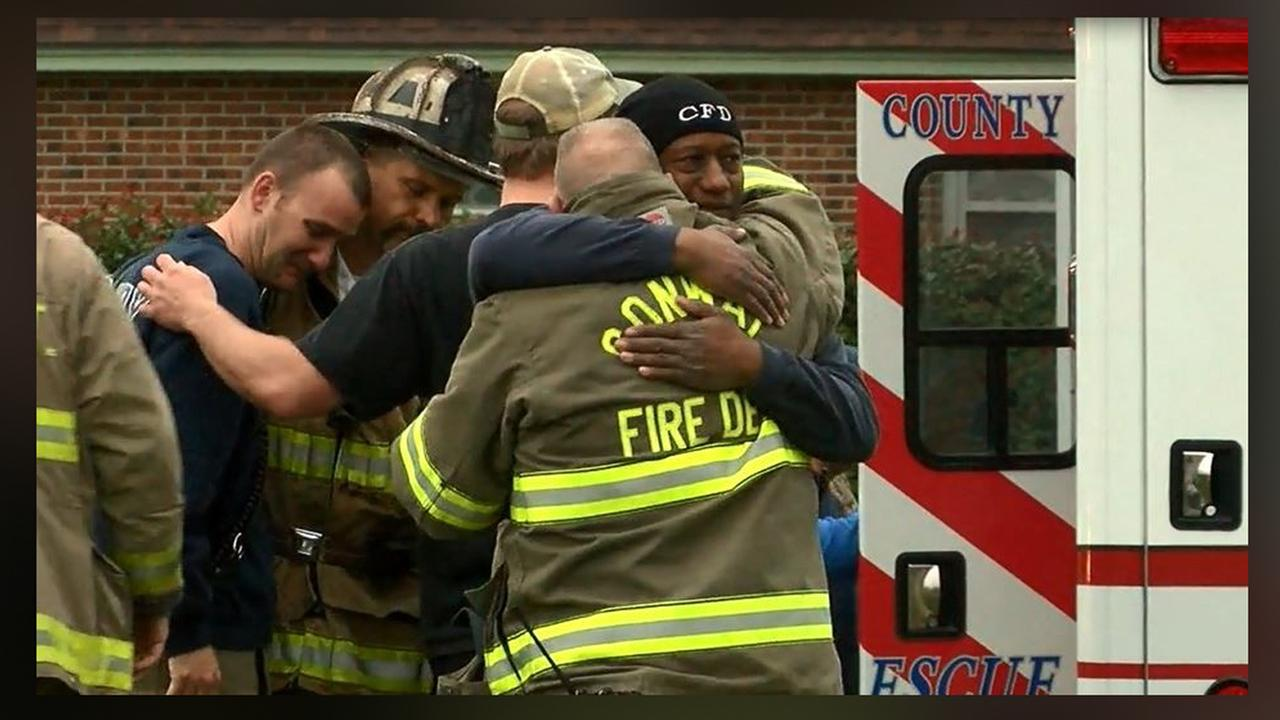 Firefighter in SC killed after being hit by fire engine