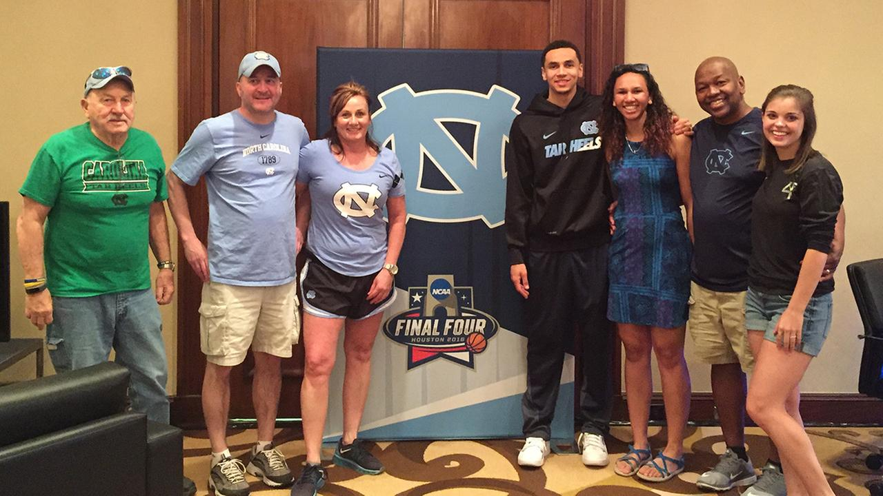 Marcus Paige and his family