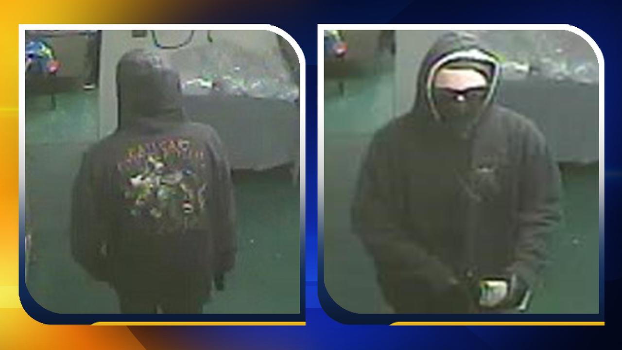 Surveillance images of the suspect