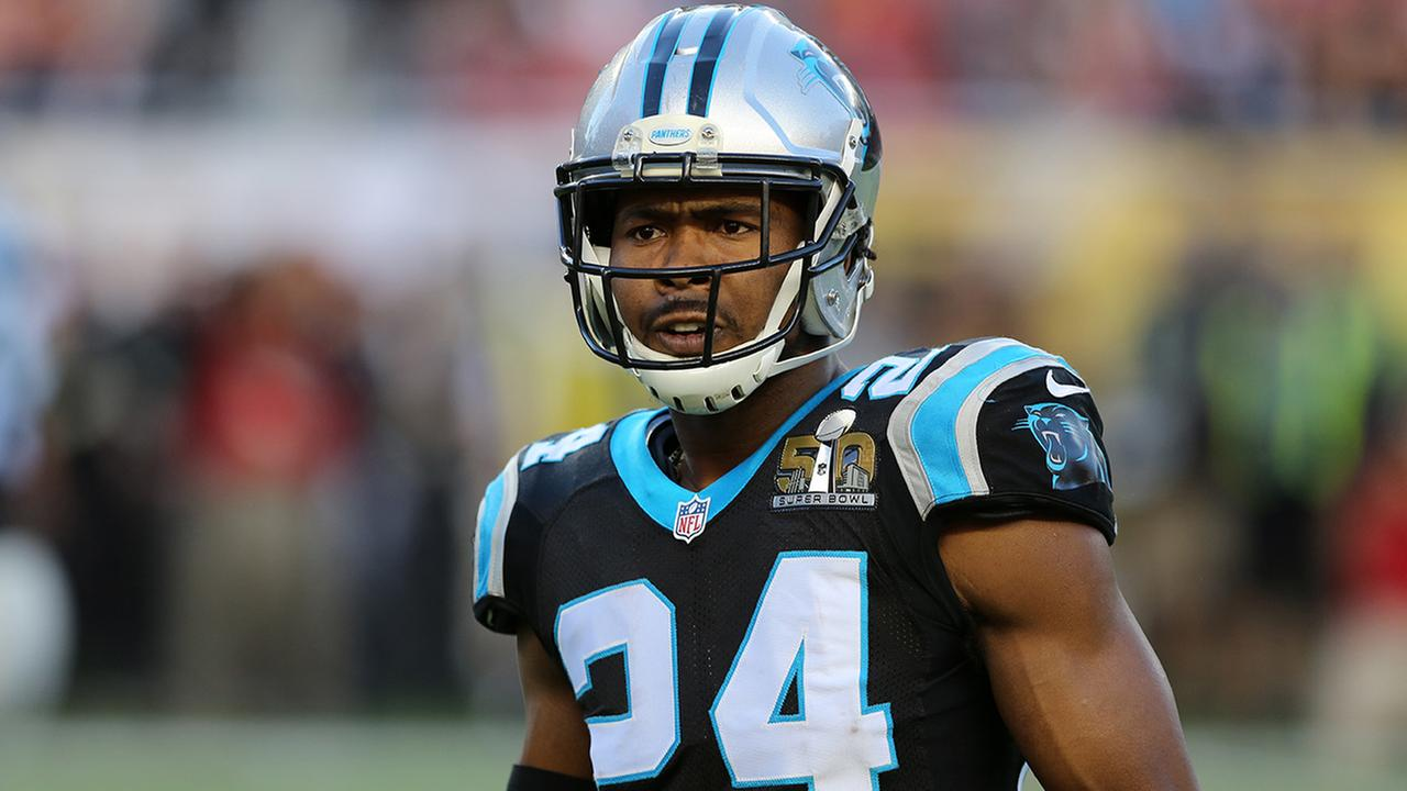 panthers rescind franchise tag make norman a agent com carolina panthers josh norman 24 is seen against the denver broncos during the nfl super