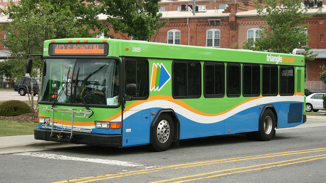 A GoTriangle bus
