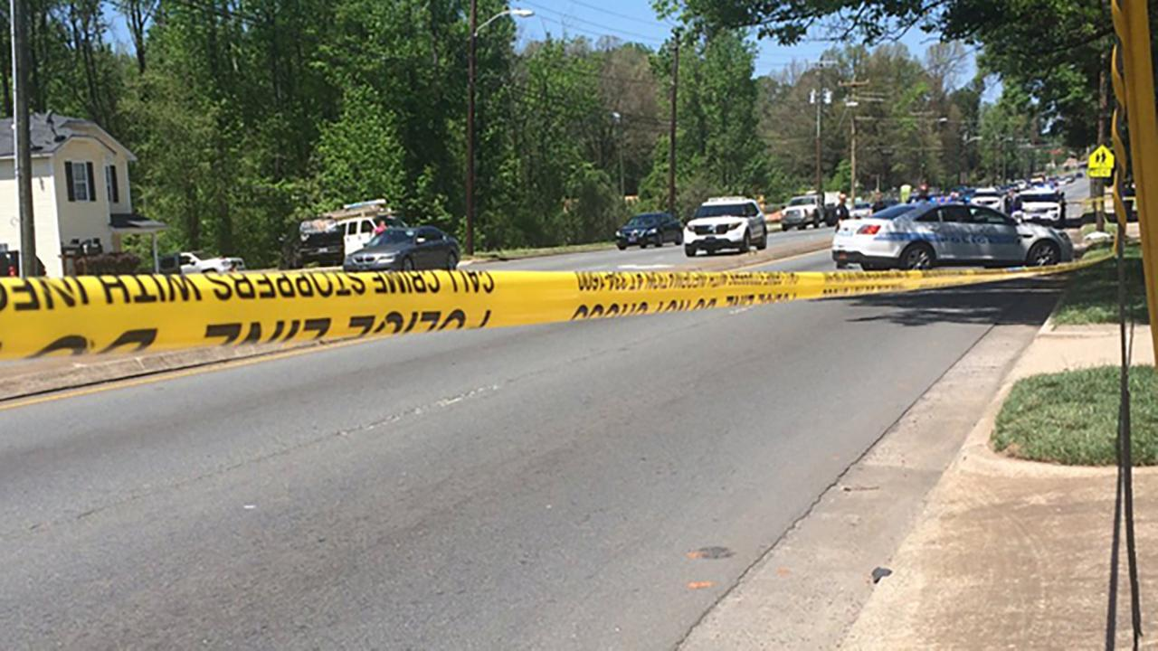 Police searching for driver after child killed in Charlotte hit-and-run