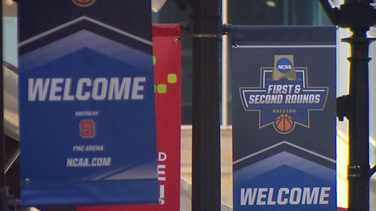Raleigh hosted this years first two games of the NCAA tournament in March.