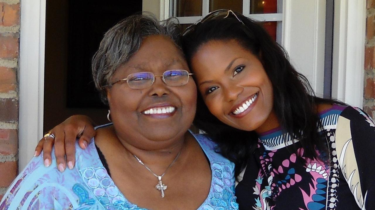 Tisha Powell and her mom