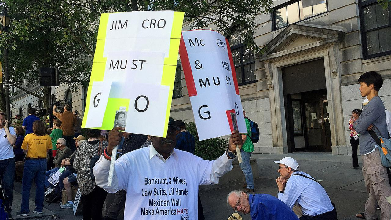 Protesters gather in Raleigh for the Moral Monday demonstration on Monday, May 16.