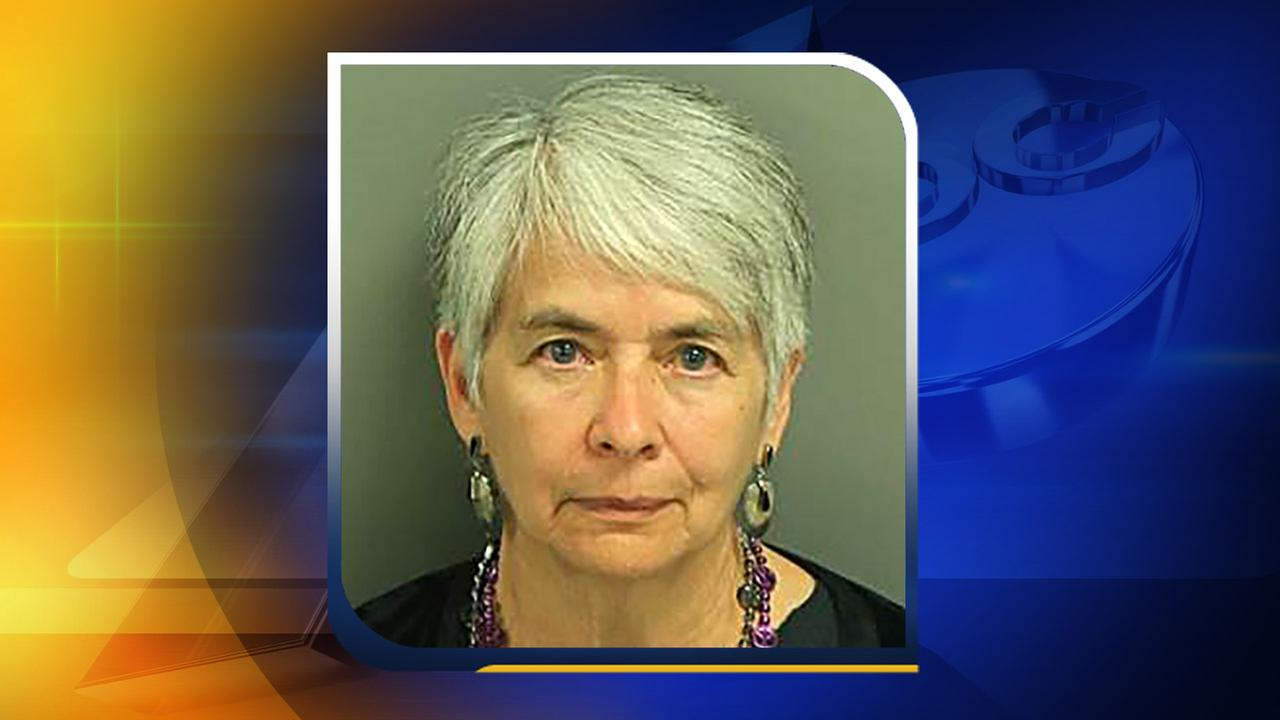 Vicki Rosalie Ryder, 74, of Durham was one of the 11 protesters arrested Monday, May 16.Wake County Detention Center