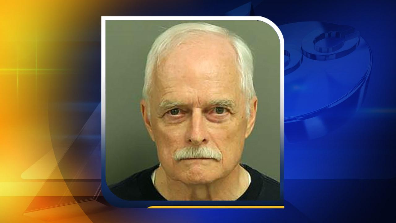 Dale Richard Herman, 73, of Durham was one of the 11 protesters arrested Monday, May 16.Wake County Detention Center