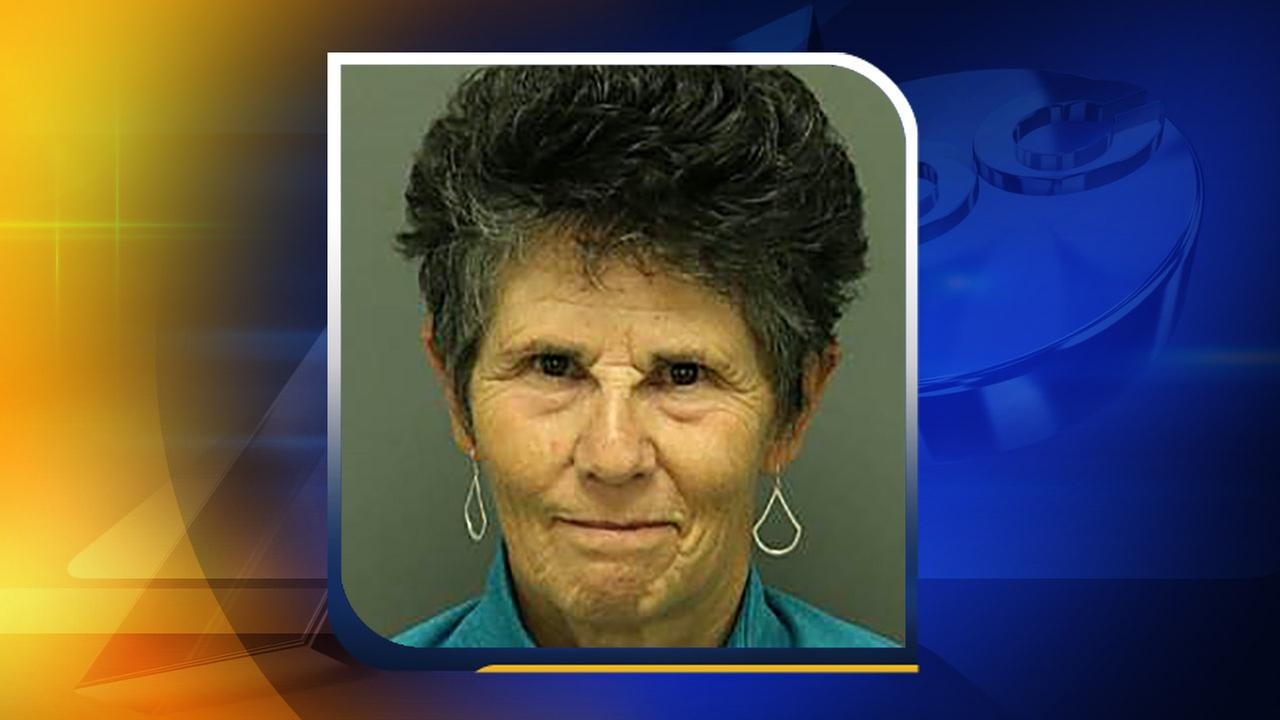 Carol Walton Anderson, 65, of Durham was one of the 11 protesters arrested Monday, May 16.Wake County Detention Center