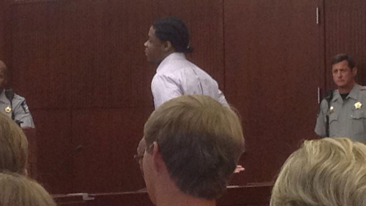 Mikkail Shaw in court