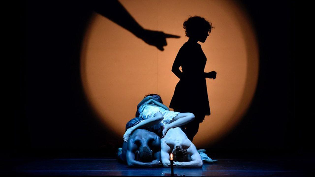 Shadowland by Pilobus, one of 61 different performances happening as part of the American Dance Festival in Durham, NC.