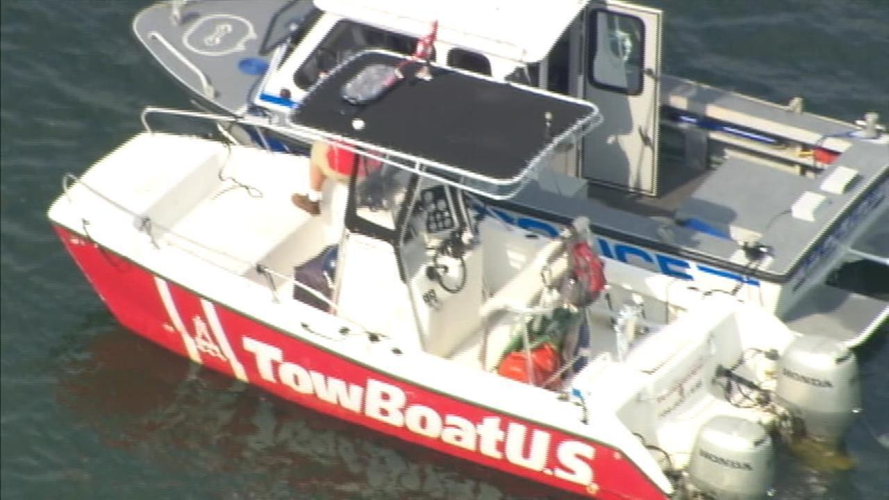 Emergency crews out on Lake Wylie