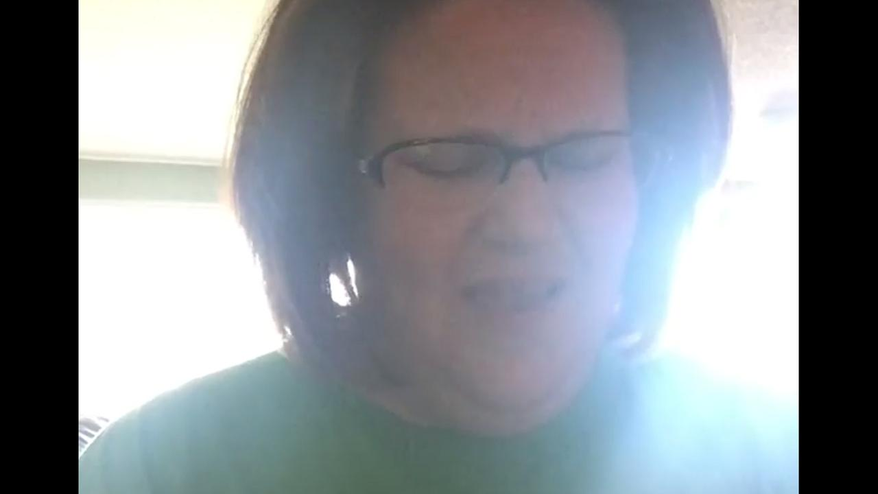 Chewbacca mom Candace Payne recorded a touching video on Facebook after the tragedy in Dallas