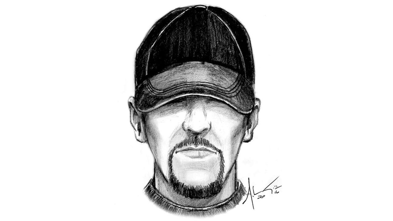Fayetteville Police Department release sketch of suspect