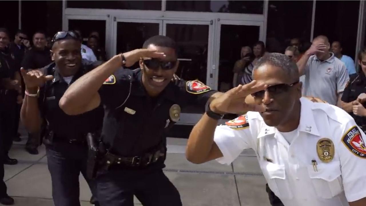 Durham Police Release Running Man Challenge Video