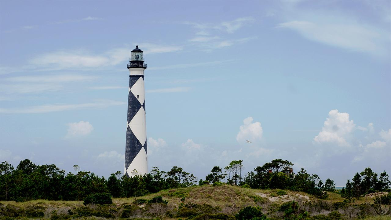 Cape Lookout Lighthouse.