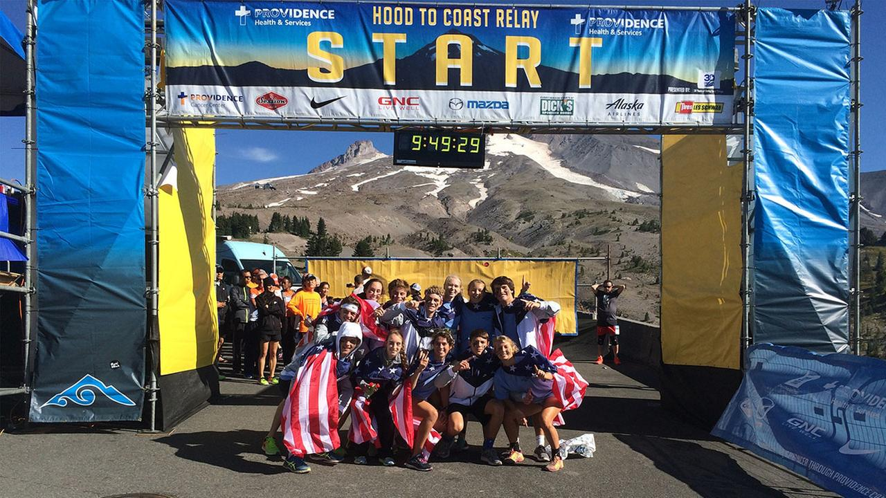 Ravenscroft students participated in the 2016 Hood to Coast relay race