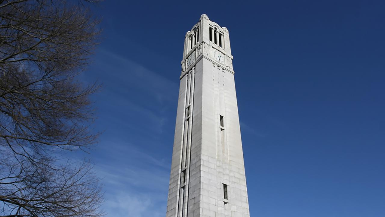 Memorial Bell Tower at N.C. State